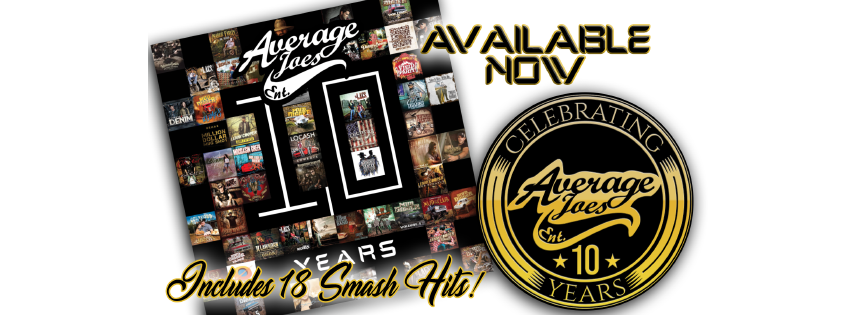AJE 10 Years Release Banner