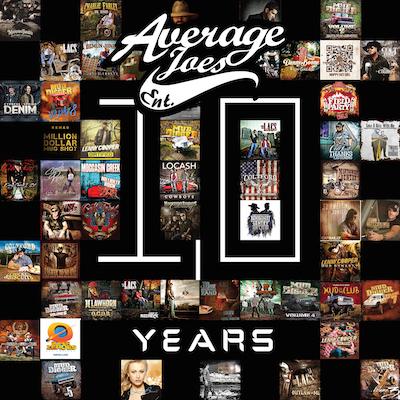 AJE 10 Years Album Cover