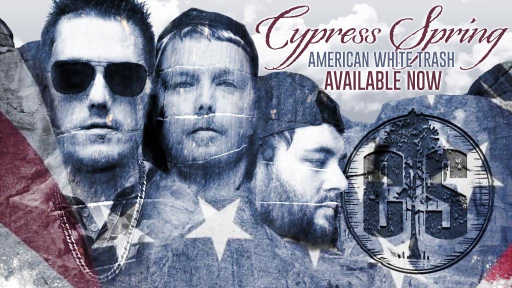 CS American White Trash Release Banner