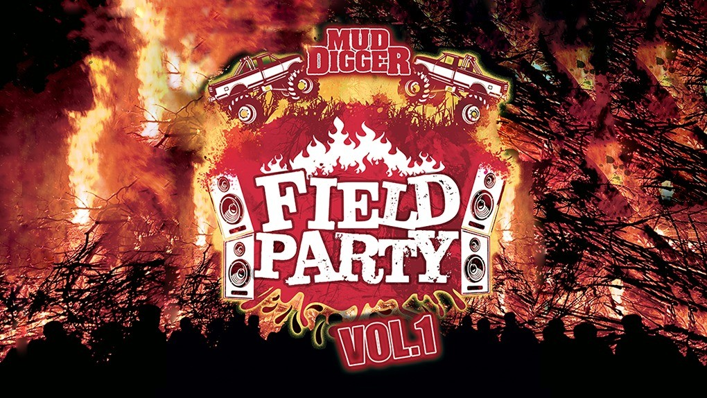 Mud Digger Field Party Release banner