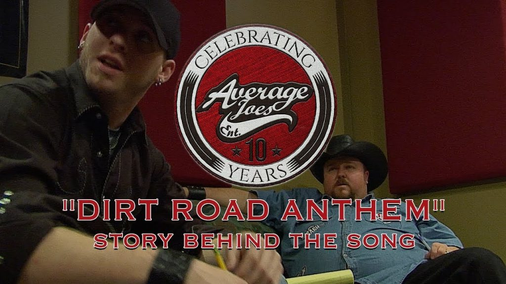 AJE 10 Years Dirt Road Anthem Banner