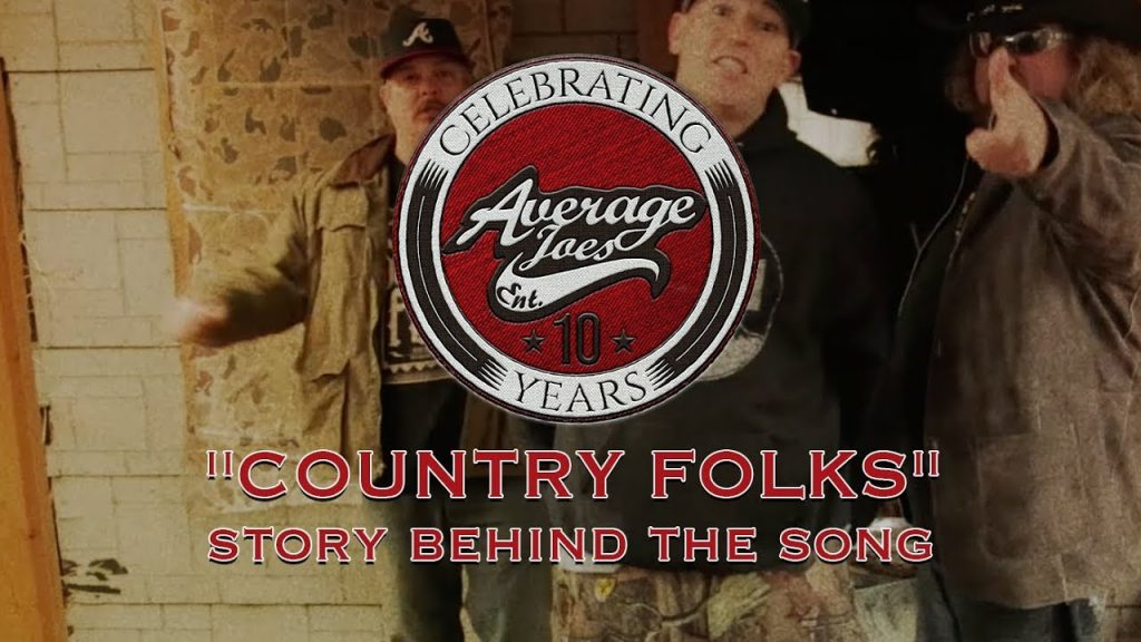 AJE 10 Years Country Folks Release Banner