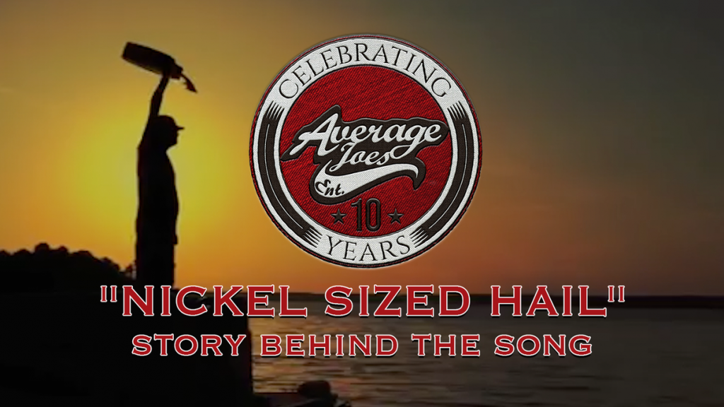 AJE 10 Years Nickel Sized Hail Banner