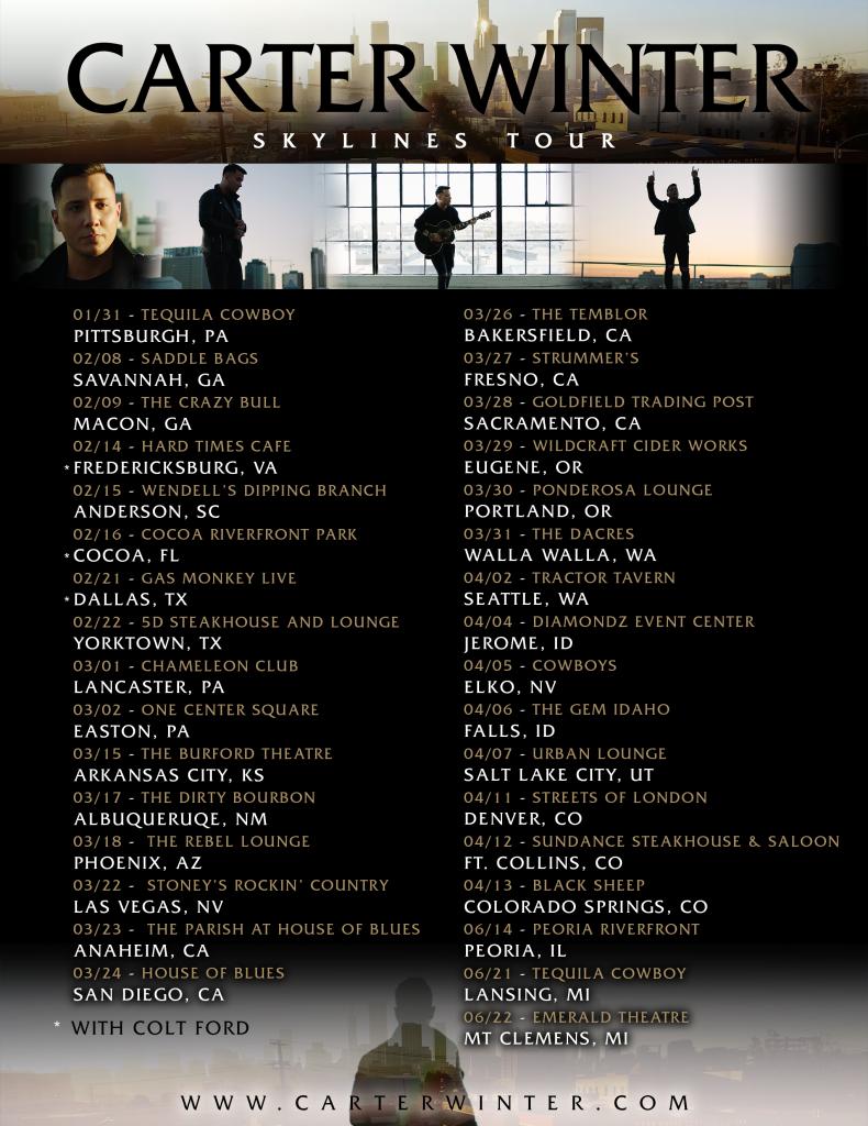 CW Skylines Tour Admat